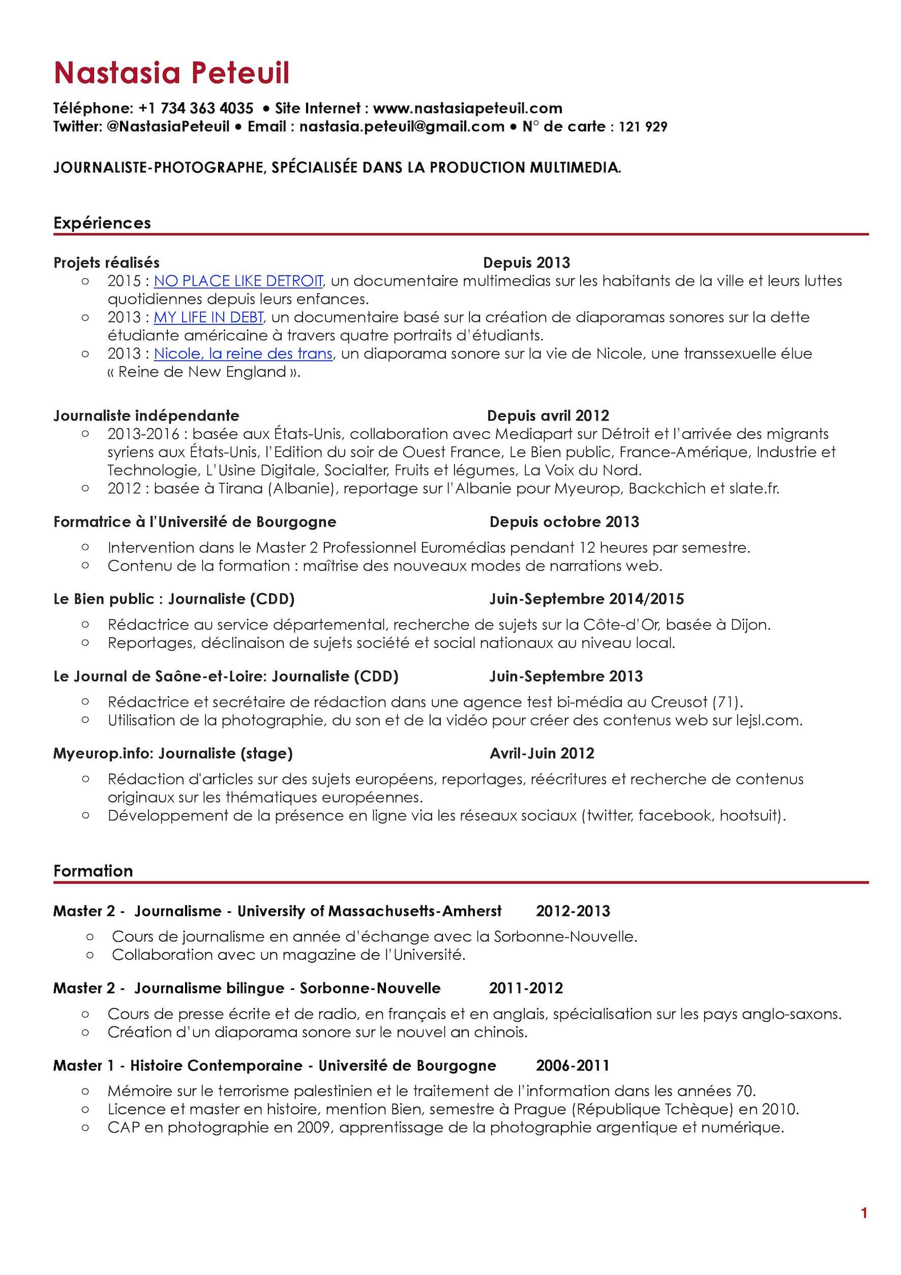 CV Nastasia Peteuil 2016-page-001