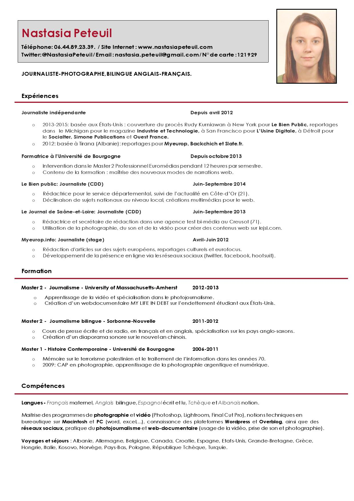 curriculum vitae format 2015 28 images cv format south